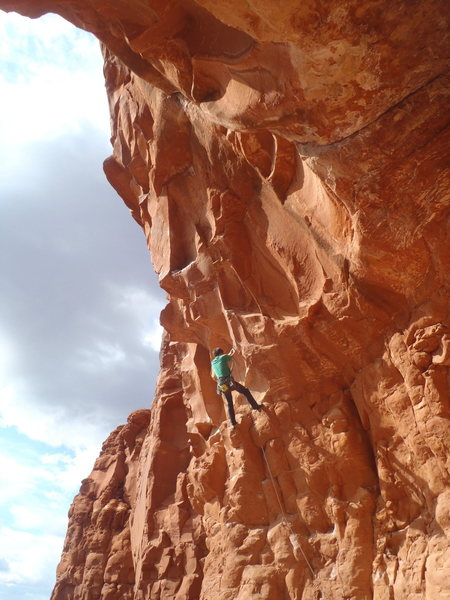 Rock Climbing Photo: Mission to Mars.