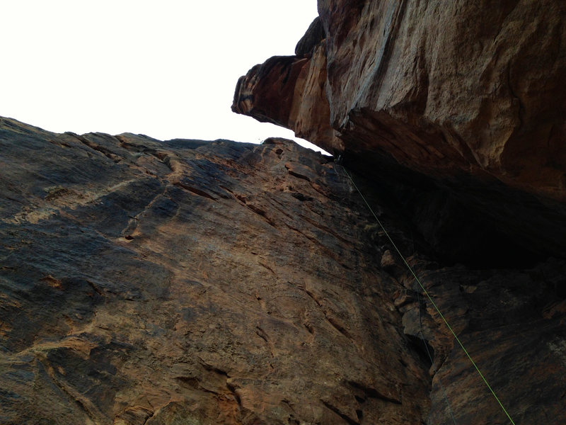 Rock Climbing Photo: The Calvanator pitch on Tricks of the Trade