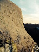 Rock Climbing Photo: North West Slab Route. 5.9