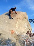 Rock Climbing Photo: North West Slab!
