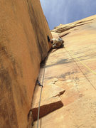 Rock Climbing Photo: Pitch 10 on Tricks of the Trade