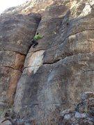 Rock Climbing Photo: Gumby I think