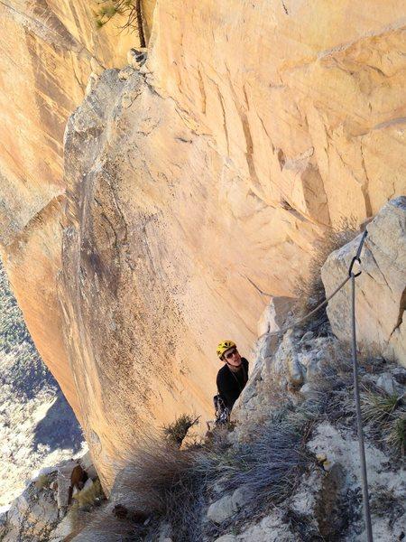 Rock Climbing Photo: Pitch 17.