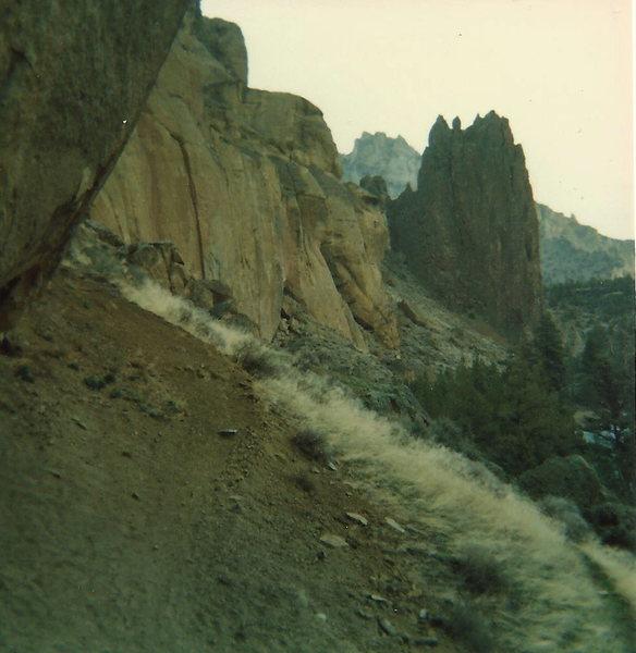 Rock Climbing Photo: early years...