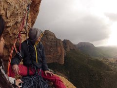 Rock Climbing Photo: Riglos Spain