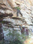 Rock Climbing Photo: Start of EKF