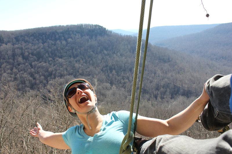 Rock Climbing Photo: Top of HW