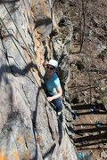 Rock Climbing Photo: HW