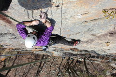 Rock Climbing Photo: Slab on HW
