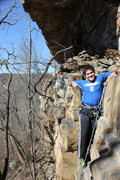 Rock Climbing Photo: To of EKF