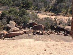 Rock Climbing Photo: The Boundary Boulders as viewed from the Redtail R...