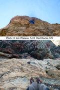 Rock Climbing Photo: Looking down on Inti Watana