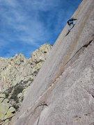 Rock Climbing Photo: slab!!