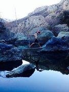Rock Climbing Photo: Jumpin