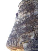 Rock Climbing Photo: Professor Camhead loving the exposure on the beaut...