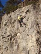 Rock Climbing Photo: 2nd crux section
