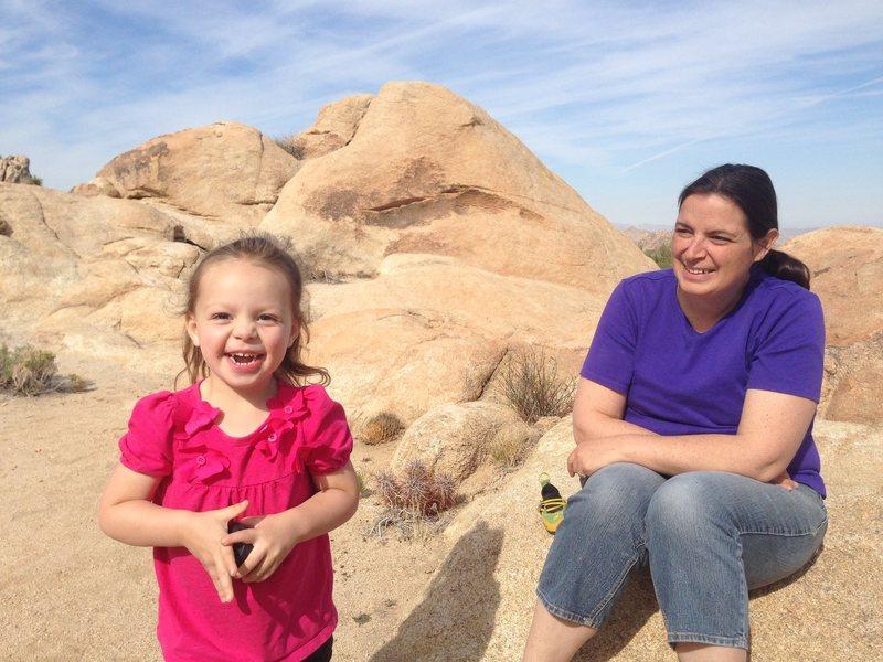 Rock Climbing Photo: family