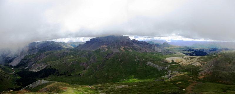 Uncompahgre from Matterhorn, San Juan Mountains.