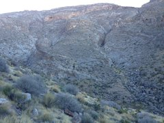 Rock Climbing Photo: Davidson Canyon Overview