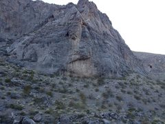Rock Climbing Photo: Lower mostly moderate potential wall in Davidson C...