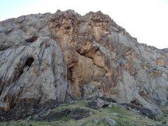 Rock Climbing Photo: Main Missionary Wall