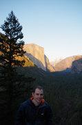 Yosemite 2014-02-24 Tunnel View Overlook