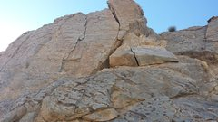 Rock Climbing Photo: About 1:30 in the afternoon, good shade with a nic...