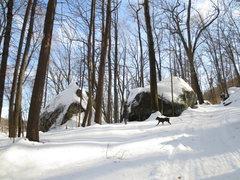 Rock Climbing Photo: Pootatuck State Forest (Feb. 2014)