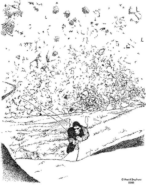 Rock Climbing Photo: This is drawn from a photo I took on a trip up The...