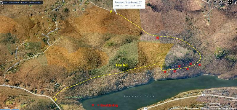 Pootatuck SF Map (Initial Findings)