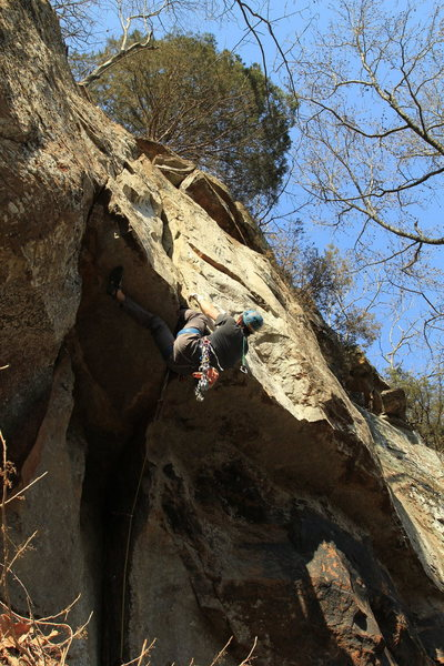 This area has some great sport climbs and a handfull of classic trad routes
