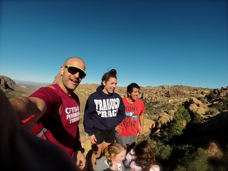 Climbing & Backpacking in the Superstitions