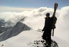 Rock Climbing Photo: bridgers peak