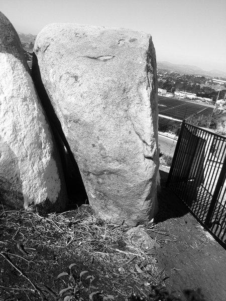 Rock Climbing Photo: Erik's Arête, V6. FA by the legendary Swedish cli...