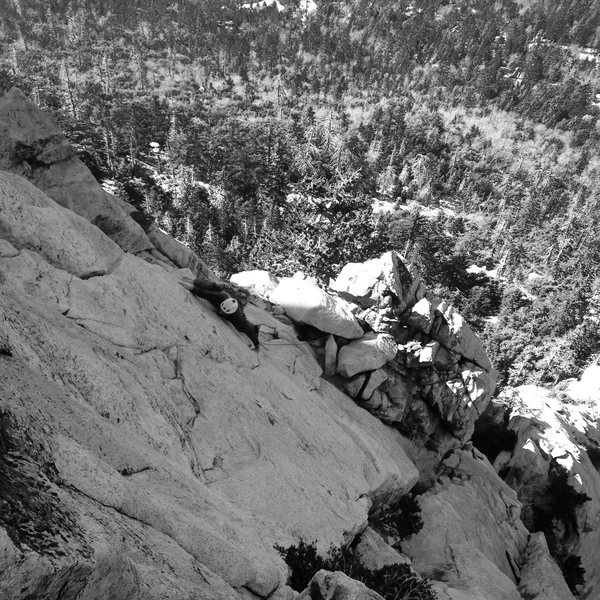 Rock Climbing Photo: Chris and Jeremy blasting WMW!!!