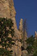 Rock Climbing Photo: from afar