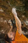 "Rock Climbing Photo: Danger Dam area, ""The Classic"" V6"