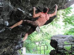 "Rock Climbing Photo: Danger Dam ""The Classic"" Gaston Variaito..."