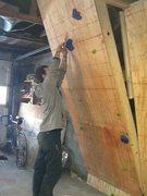 Rock Climbing Photo: wall unfinnished