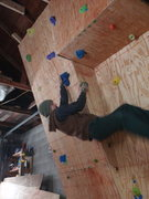 sideways climbing