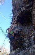 Rock Climbing Photo: 5.10a
