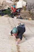 Rock Climbing Photo: Nolan on Anti-crack.