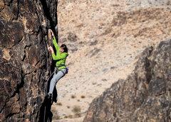 Rock Climbing Photo: Paisley Close loving NJC.  Photo by Steve Cox