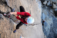 Rock Climbing Photo: Climber - Paisley Close.  Photo - Steve Cox
