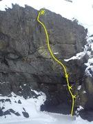 Rock Climbing Photo: Fission