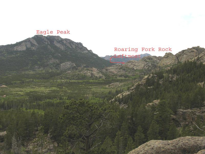 Leftmost Roaring Fork Rock group