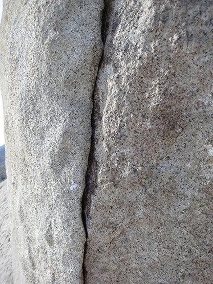Rock Climbing Photo: Stingray upper section.