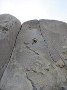Rock Climbing Photo: Brad on Young Guns.