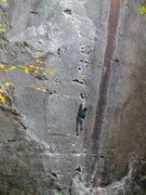 Rock Climbing Photo: Amarillo Sunset, PMRP, RRG