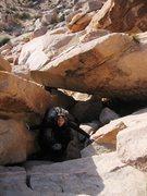 Rock Climbing Photo: Fun bouldery approach to Mary Ann's Face